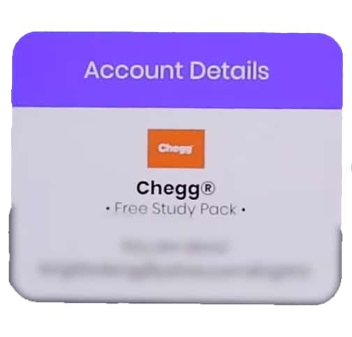 chegg free account