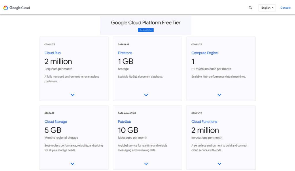 google free vps