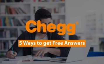 how to get chegg answers free