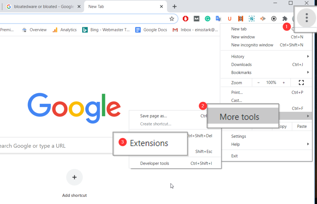 Remove Suspicious Extensions From Chrome
