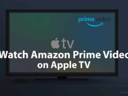 how to watch amazon prime on apple tv