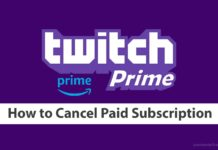 twitch prime cancel