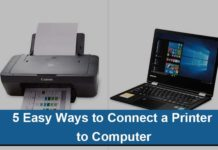 Ways to Connect a Printer to Computer