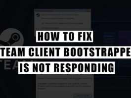 Fix Steam Client Bootstrapper is Not Responding
