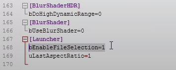 fallout launcher configuration file